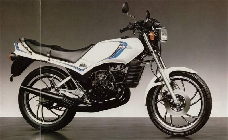 Yamaha 125 Rdlc 1981 1982
